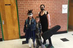 Click to view album: Teachers and Students Trick or Treating 2016